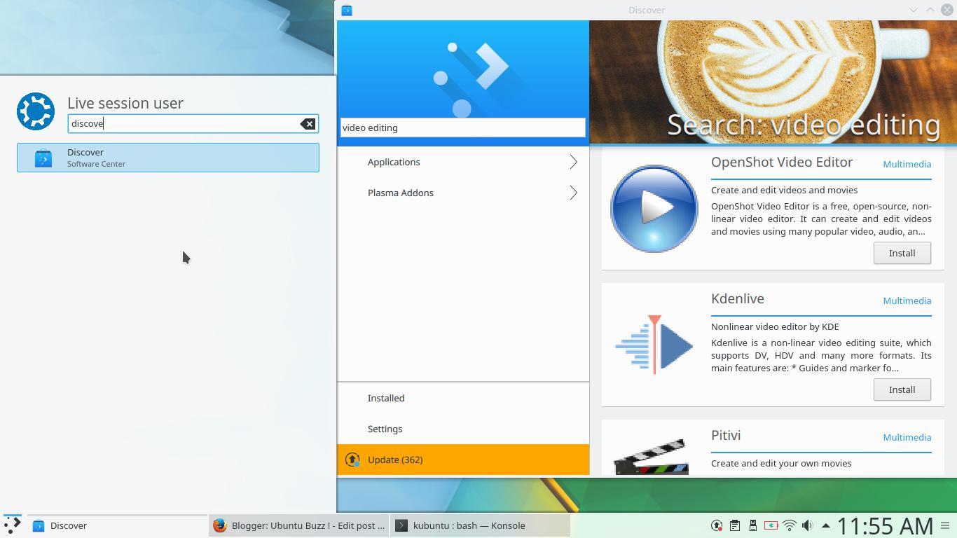 Ubuntu Buzz !: Kubuntu 17 10 Guide for Newbie Part 3