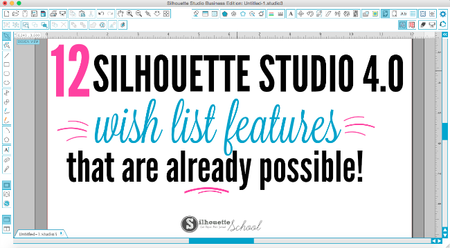 Silhouette studio 4, silhouette studio 4.0, silhouette studio version 4, silhouette studio 4 tutorial