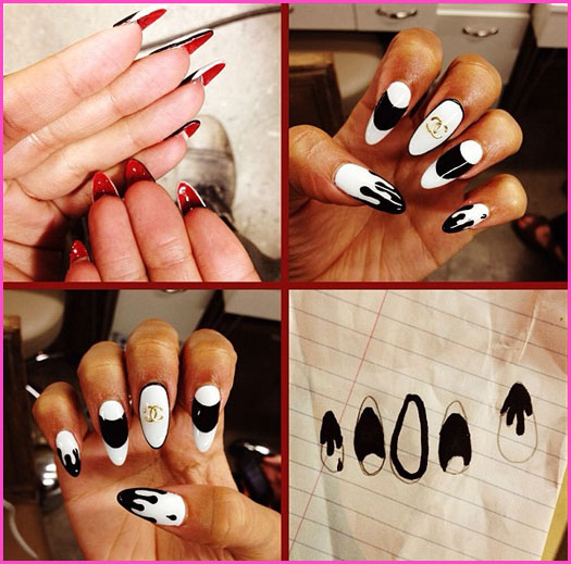 Felicia's Fashion ♥ ♥: Zendaya inspired Nail Art