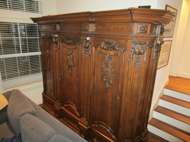The Peak Of Tr 232 S Chic French Antique Wedding Armoire For