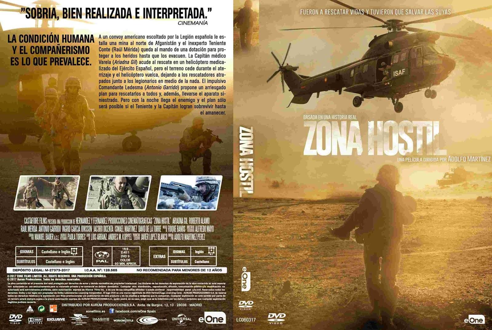 Tudo Capas 04: Rescue Under Fire (2017) SPANISH R2 - Cover ...