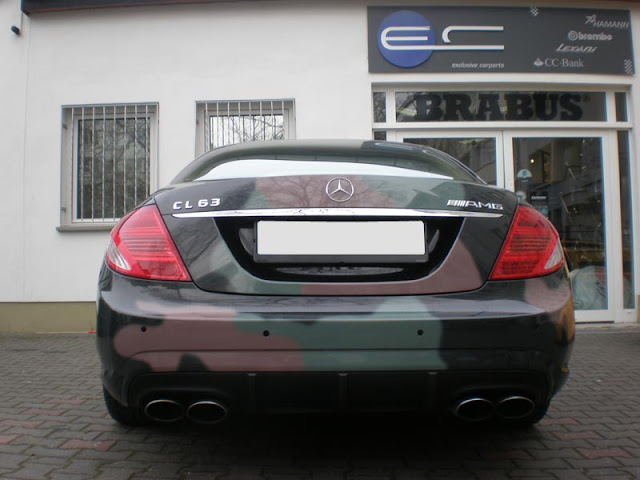 mercedes w216 cl 63 amg custom