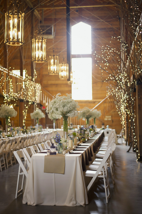 barn+wedding+rustic+horse+cowboy+cowgirl+babys+breath+centerpieces+bouquets+floral+arrangement+blue+baby+powder+burlap+woodland+organic+brown+barnhouse+groom+bridal+lace+bride+something+blue+Melissa+McCrotty+Photography+1 - Baby's Breath in the Barn