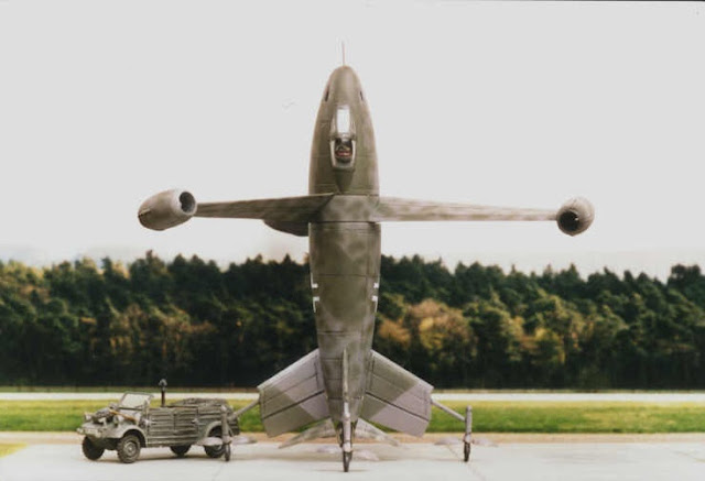 www.fertilmente.com.br - Triebflügel Nazista foi um projeto VTOL, porém nunca saiu do papel