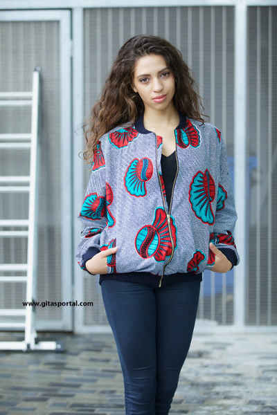 ankara jacket and trousers