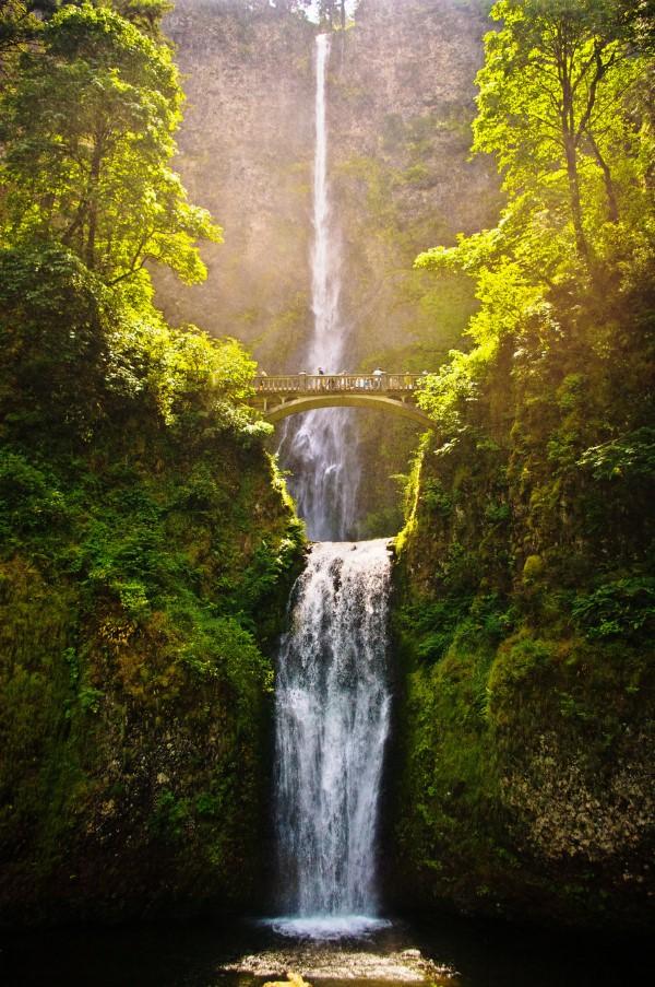 Multnomah Falls Oregon Winter Wallpaper 15 Beautiful Waterfalls From Around The World Most Beautiful