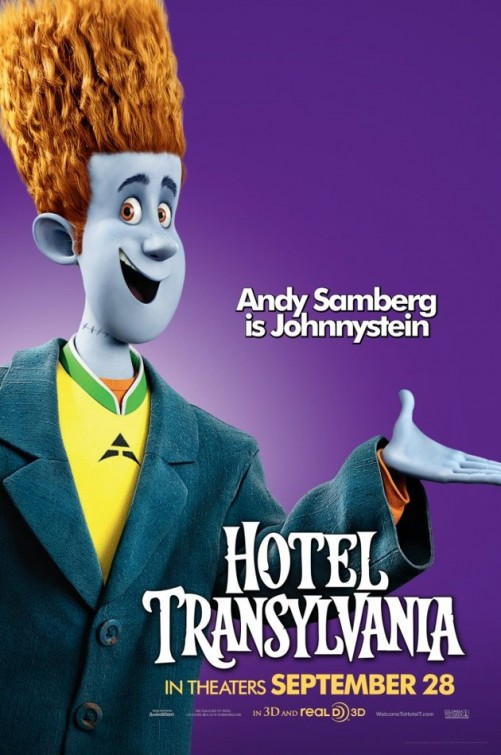 Hotel transylvania teaser trailer for Character hotel