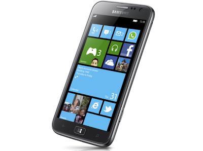 سامسونج تعلن عن Ativ S أول هاتف يعمل بنظام تشغيل ويندوزفون 8