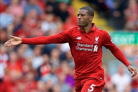 Wijnaldum chơi cực tốt ở tuyến giữa Liverpool