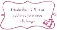 Addicted to Stamps Challenge #123 - Buttons and/or Bows