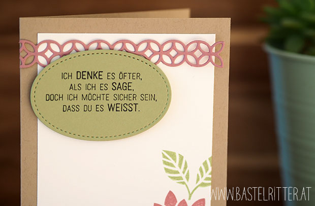 Bluehende Worte stampin up bastelritter big shot