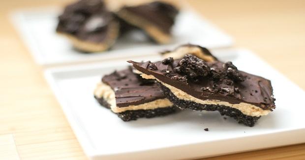 Cookies 'N Cream Peanut Butter Bark  Recipe