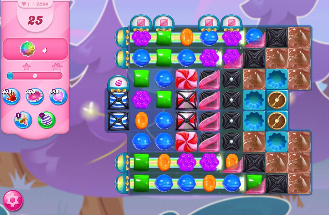 Candy Crush Saga level 7894