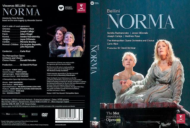 Bellini: Norma Met Live Recording