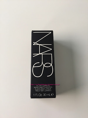 Review  All Day Luminous Weightless Foundation Nars