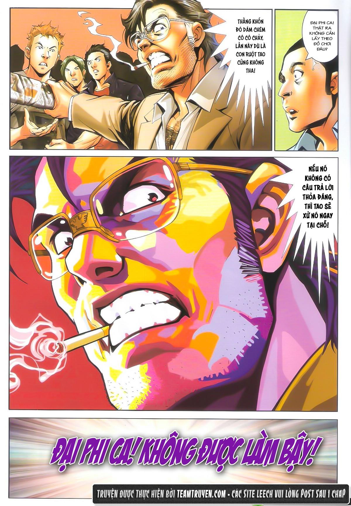 Người Trong Giang Hồ chapter 1604: hồng hưng vs trường lạc trang 5
