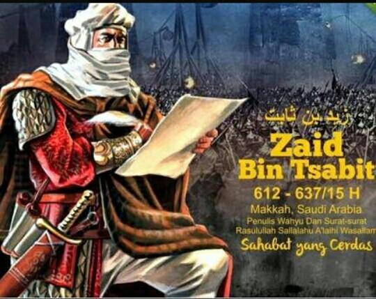 Kisah Teladan dari Zaid Bin Tsabit, sahabat yang menjadi penerjemah Rasulullah