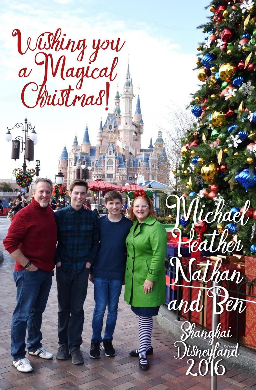 My Wandering Life Merry Christmas From Shanghai Disneyland