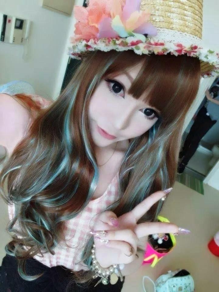 Stylish Dp: Cute Korean Girl