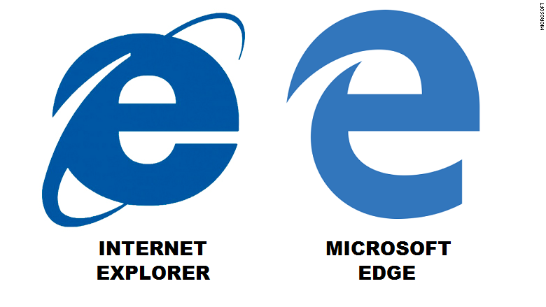 The New Microsoft Edge Browser Logo | Mono-live