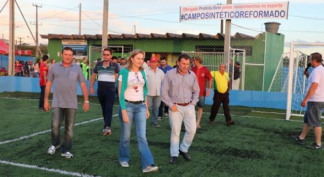 Manoel Ribas: Prefeitura reinaugura Campo Sintético