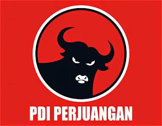 Lambang PDIP  / lambang banteng / catatan adi / catatanadiwriter.blogspot.com