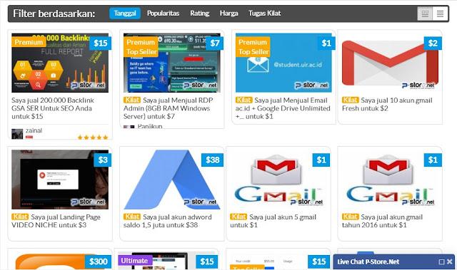 homepage situs p-store.net