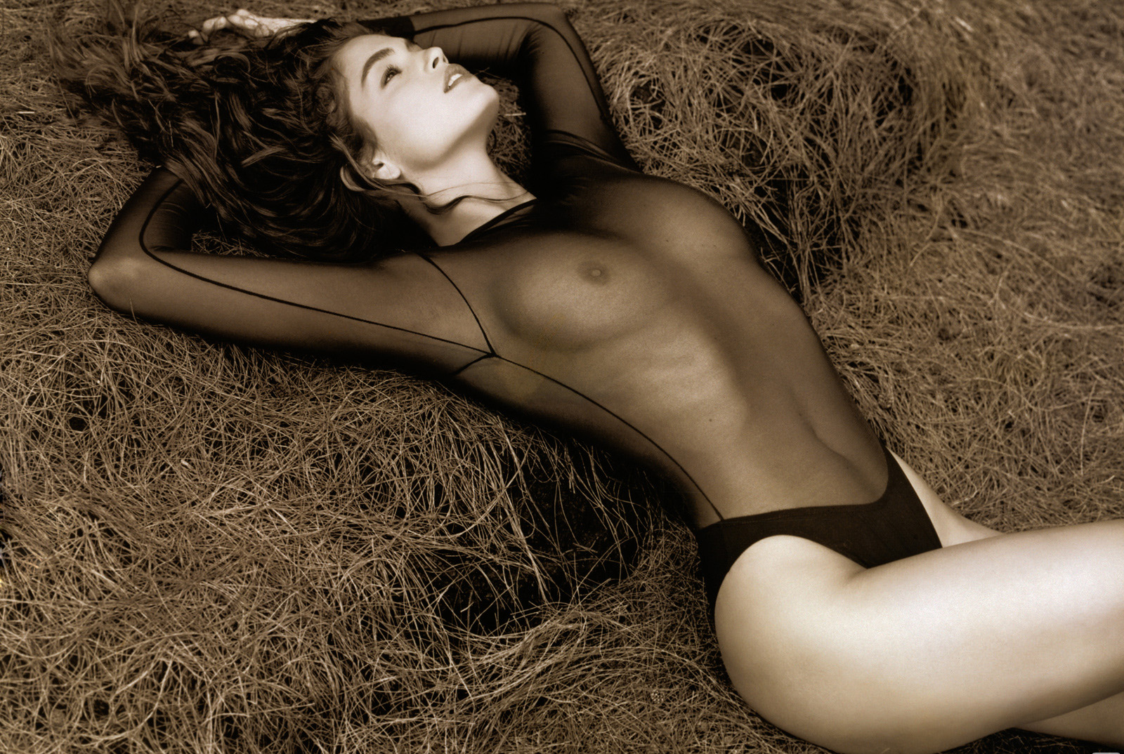 Were visited Cindy crawford naked excited