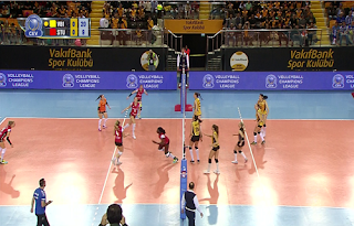 CEV Volleyball Champions League Biss Key Asiasat 5 23 November 2018