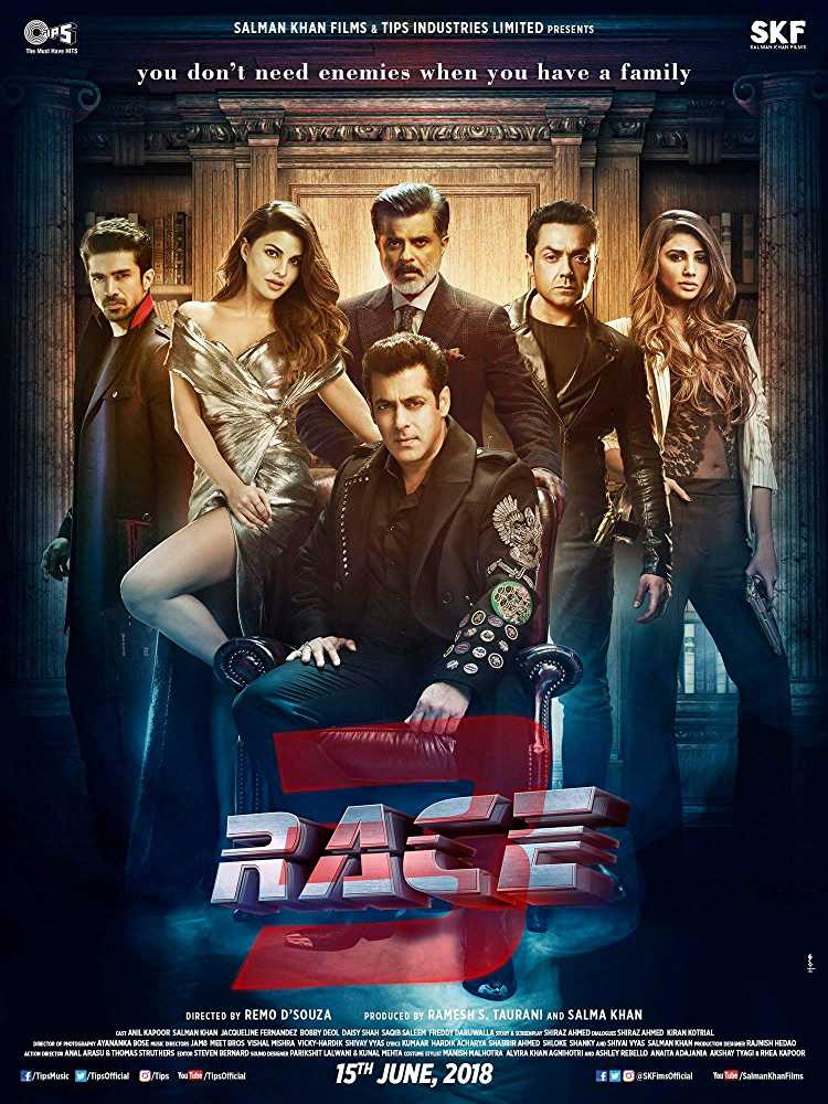 Race 3 2018 Hindi Movie Free Download HD Cam