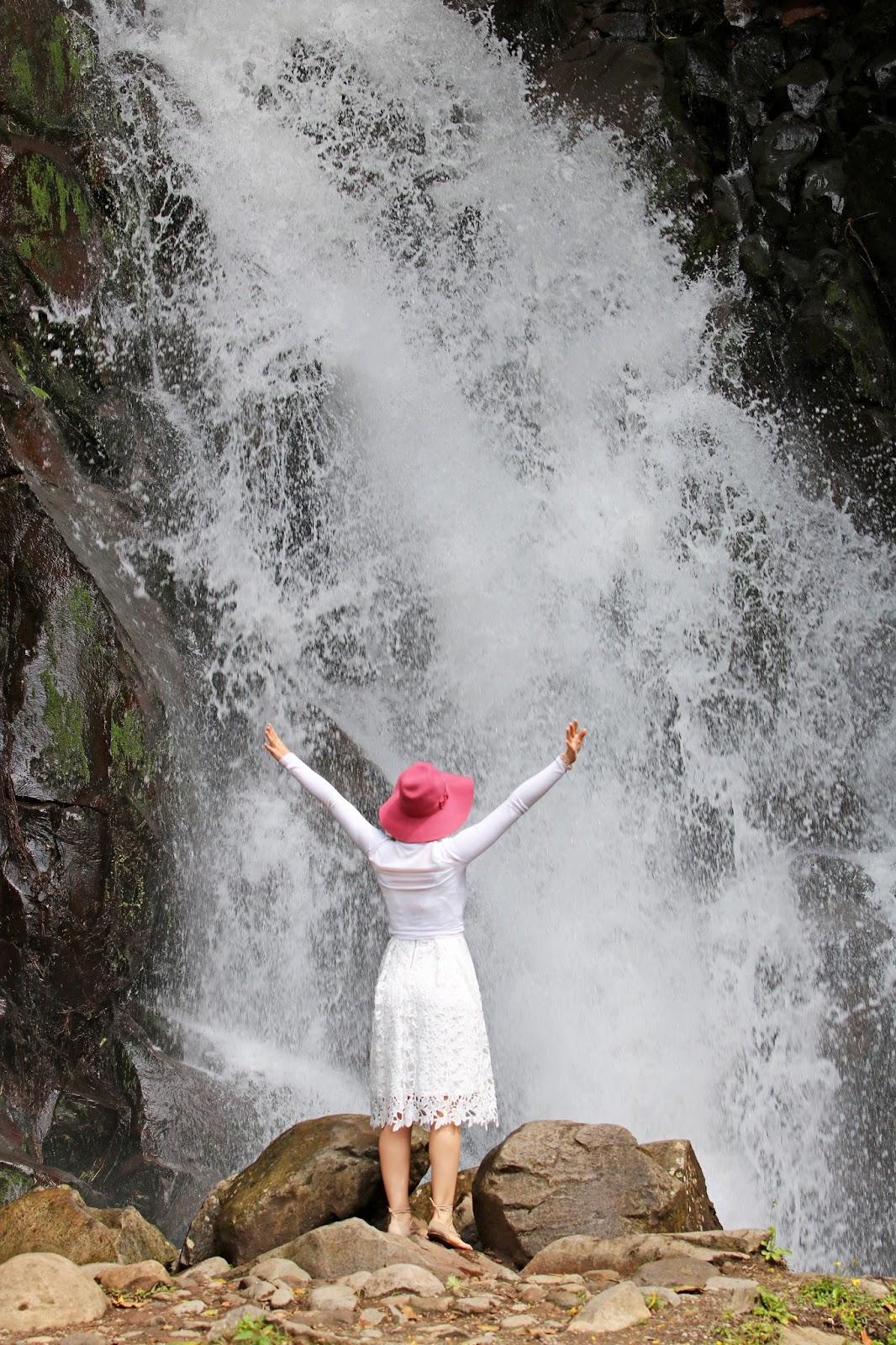 Hermosa cascada en Chiriqui, Panama