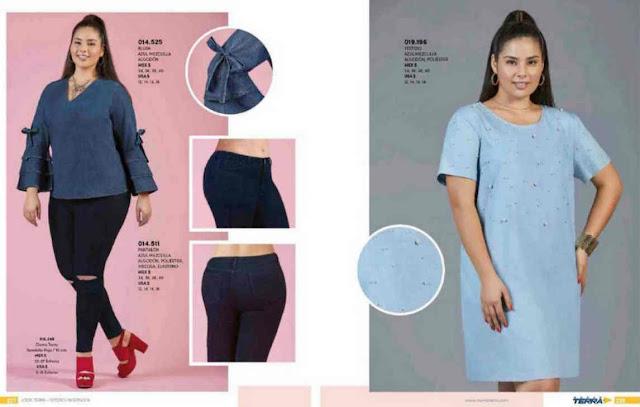 f3ec6b262 Mundo Terra ropa para gorditas catalogo PV 2019