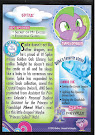 My Little Pony Spike Series 3 Trading Card