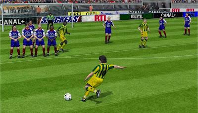 تحميل لعبة كرة القدم الأسطوره pes 6