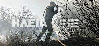 Η μάχη με τις φλόγες στο Περιστέρι για να σωθεί το χωριό (video)
