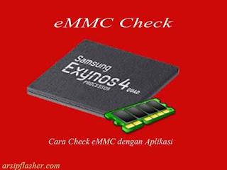 aplikasi check emmc android