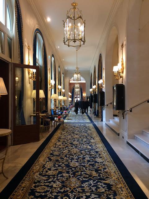 Ritz Paris hallway