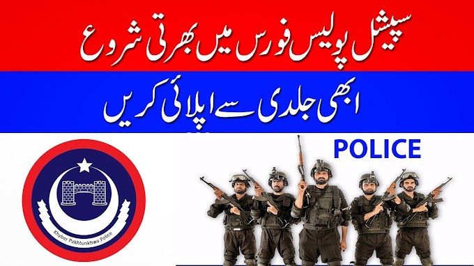 POLICE JOBS 2019 FOR SPECIAL POLICE FORCE