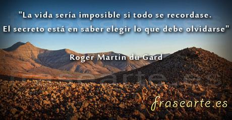 Frases para recordar de Roger Martin du Gard