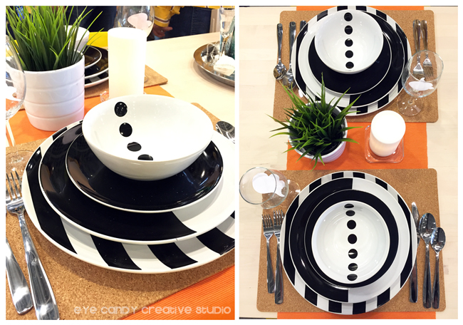 black & white place setting, IKEA west chester, #IKEAcatalog