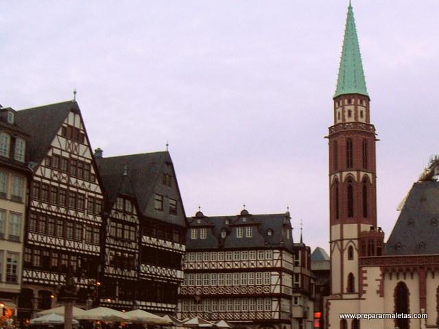 casco antiguo de Frankfurt
