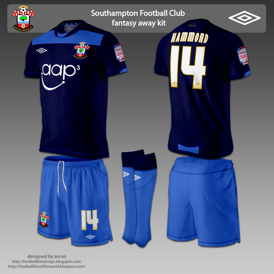 The away kit is a combination of dark blue and a lighter shade of blue. adb71b4d4