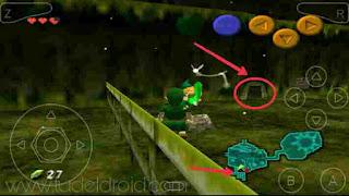 Lokasi Pedang Zelda : Ocarina Of Time