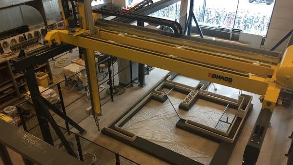 3D concreate printing machine