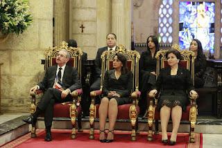 Al conmemorarse 174 aniversario de la Independencia Nacional, Danilo Medina participa en Te Deum