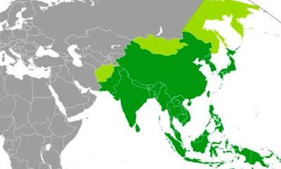 Daftar Nama Negara di Benua Asia dan Ibukotanya