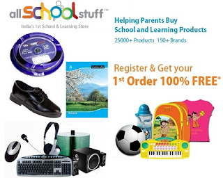Register & Get your 1st Order 100% Free with Rs.200 Coupon(No minimum Purchase) @AllSchoolstuff