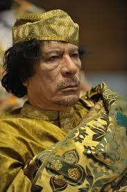 معمر القذافي قائد الثورة الليبيبة