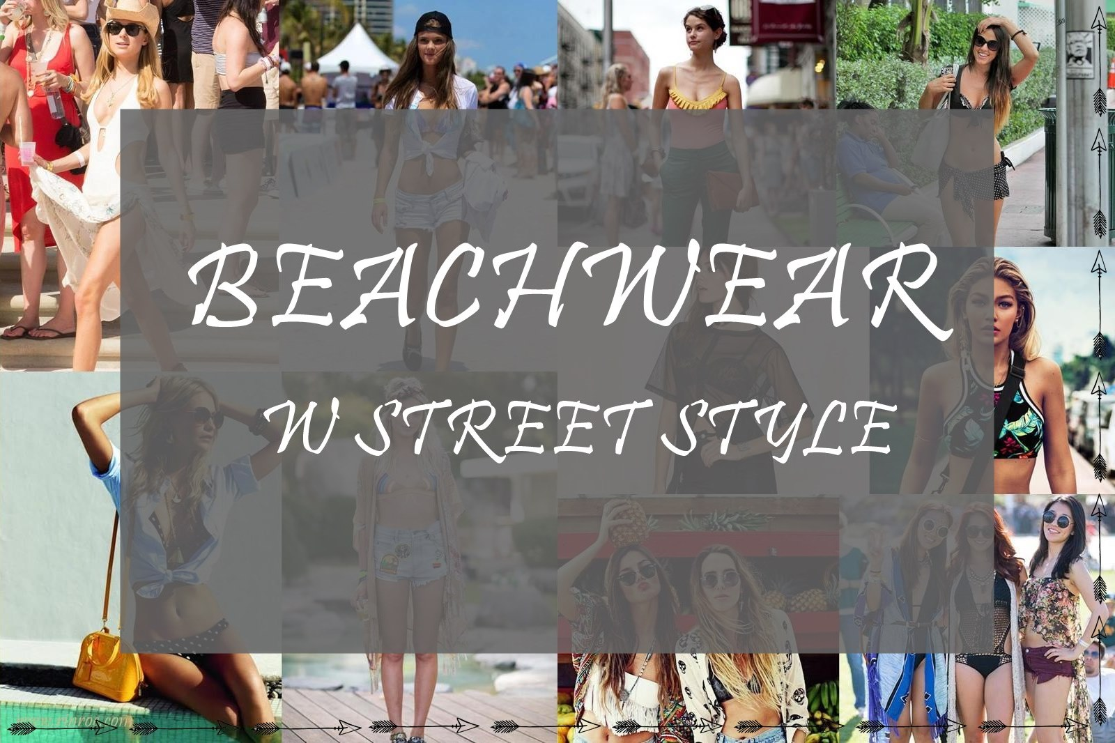 Beachwear w Street Style