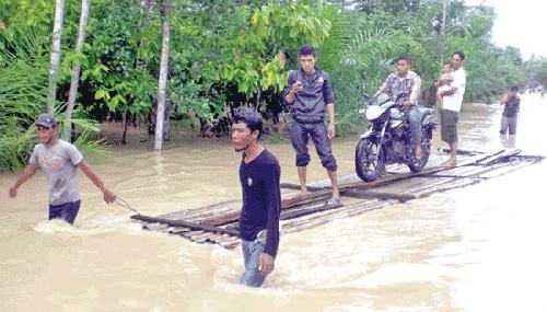 Hujan Lebat, Aceh Barat Banjir